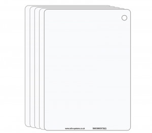 A6 Blank Slate / Crib Cards (Pack of 5 Cards)
