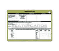 A6 7 Questions Card